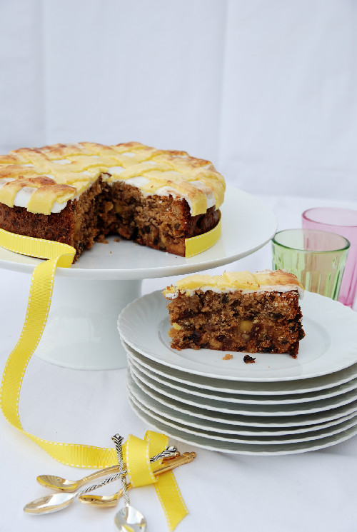 Marzipan Simnel Cake