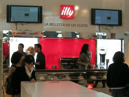 Illy stand at MIA trade fair Rimini