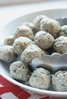 Lamb, Garlic and Parsley Meatballs