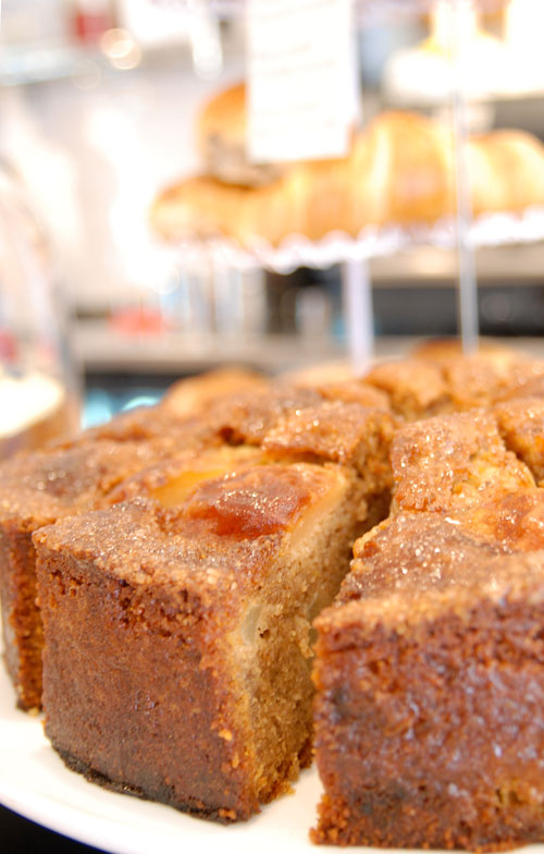 Cinnamon and pear cake – a wheat-free, gluten-free and dairy-free delight