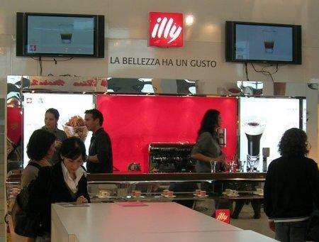 Illy stand at MIA trade fair Rimini
