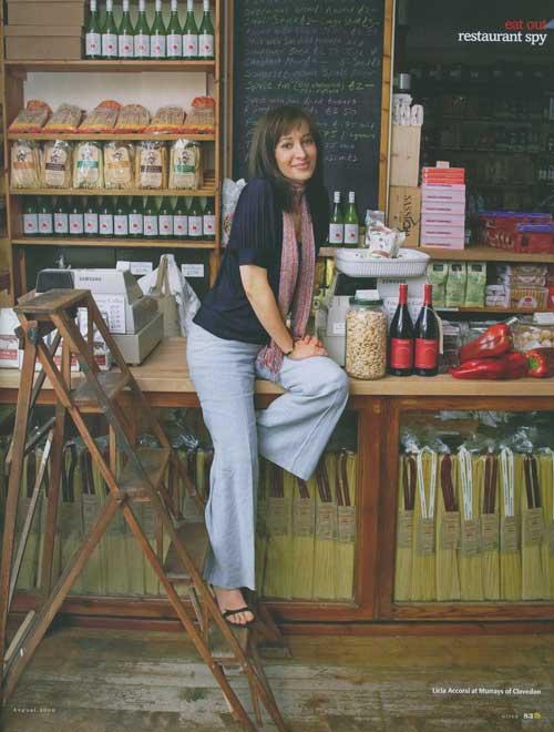 Licia in Olive magazine Aug08